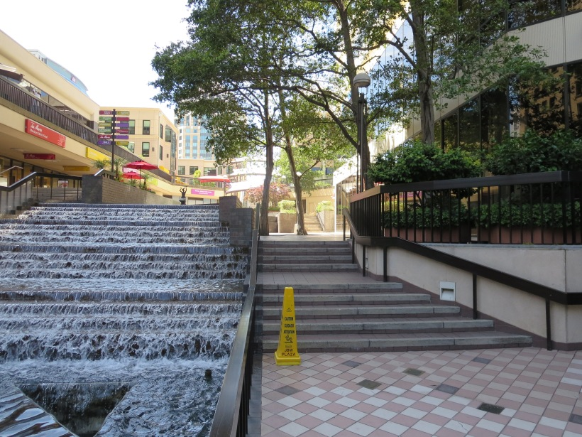 City Center; Steps and Water