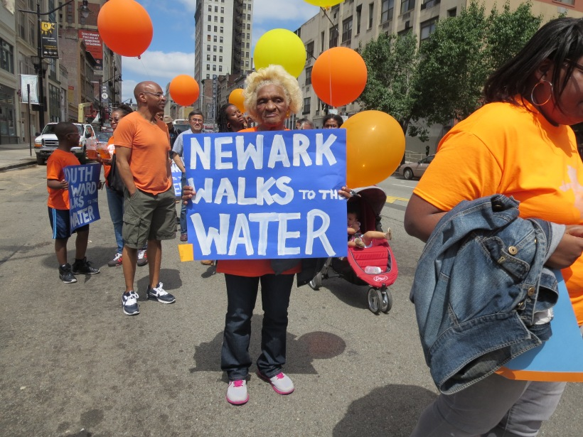 Longtime residents showing their support for  waterfront access