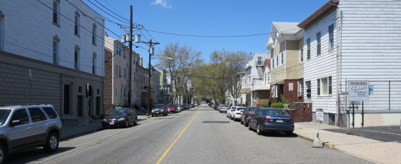 Walnut Street in the Ironbound is much wider than necessary. The wide street encourages speeding, creating a dangerous environment for the many pedestrians walking in the area.