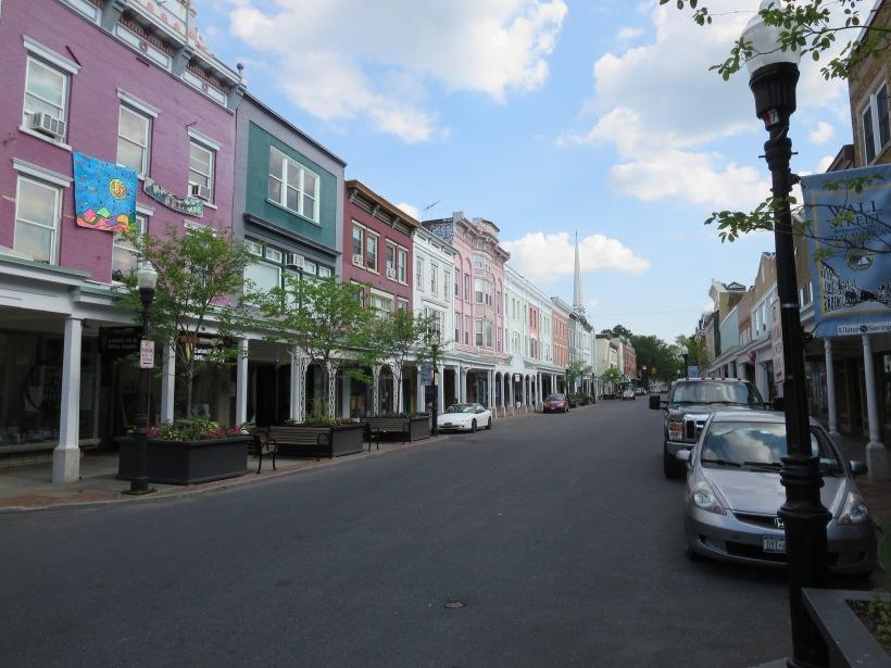 Wall St. in Kingston has great urban design characteristics.